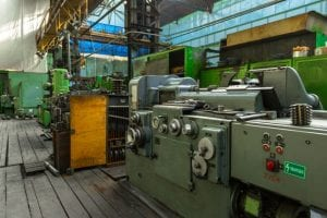 machines in factory