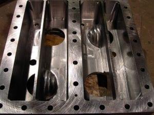Hydrogen Cooler Reversing Chambers