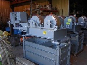 power rolls in factory
