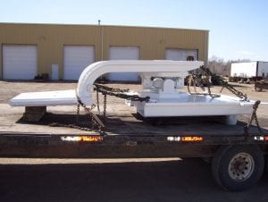 Lowboy Trailer with gooseneck hitch