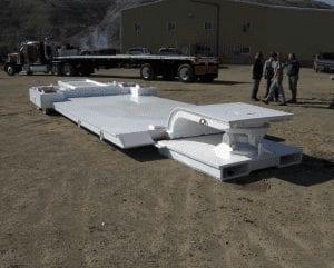 Finished miner trailer