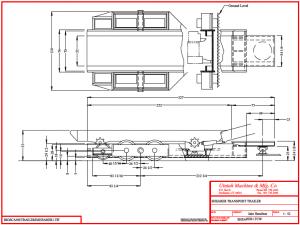 design for a shearer transport trailer