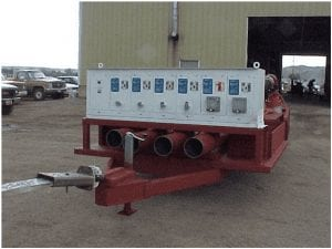 custom Pump trailer
