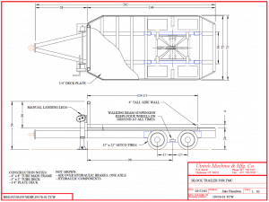 block trailer diagram
