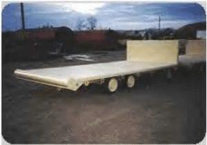 flatbed heavy duty trailer