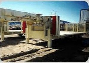 mining heavy duty trailer