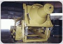 6.25 yard concrete trailer with drum raise