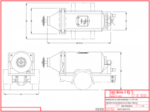 concrete trailer plans