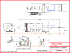 concrete mixer trailer plans