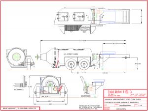 concrete mixer trailer plans