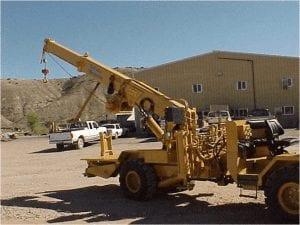truck mounted mining crane