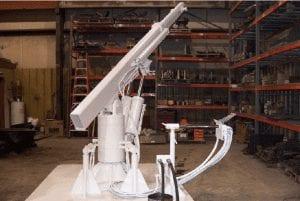 mining underground crane