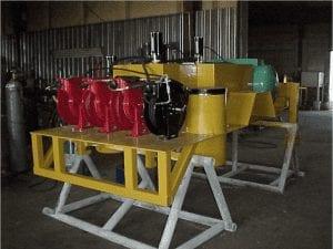 Lube module attachment for a 460-UT tractor