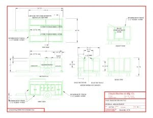 equipment trailers blueprints