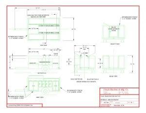 equipment trailers blueprints