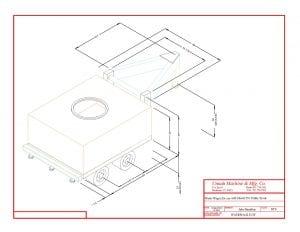 water tank trailer blueprint