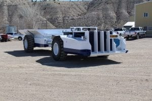 new coal hauler with greater ground clearance