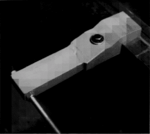 Clamp constructed using only 3 pieces